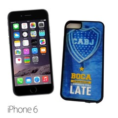 39105 - FUNDA CELULAR HOLOGRAMA IPHONE 6  BOCA JUNIORS