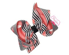 Laço Ana G - Flamingo Listrado