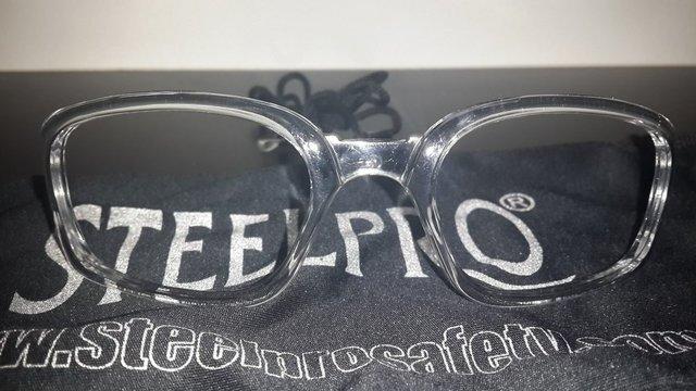 cb6c003dd6 Anteojo OMEGA para montar lentes recetados (policarbonato de alta  transp.+anti-rayas) marca Steelpro