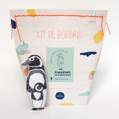 KIT DE BORDADO PINGÜINO DE MAGALLANES