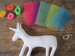 kit para decorar tu unicornio - Chapololo