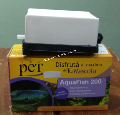 Aireador New Pet Aquafish 200