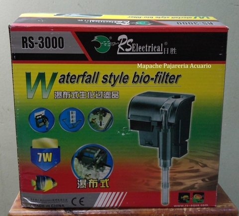 Filtro Cascada Rs Electrical Rs 3000
