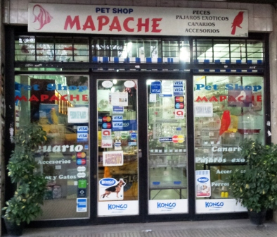 Pet Shop Mapache Nuestro Local