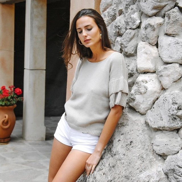 Sweater Menorca Beige