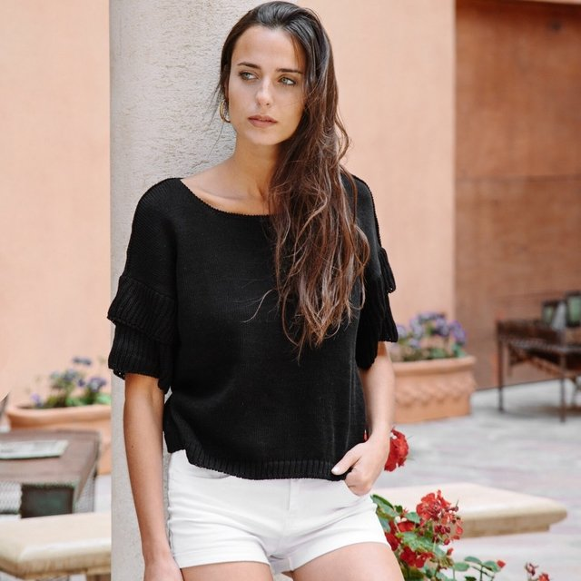 Sweater Menorca White