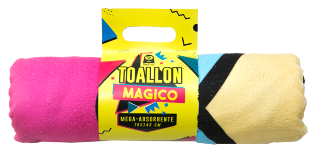 TOALLON MAGICO GIRL POWER - comprar online