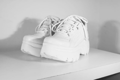 TINI LOW BLANCO zapatillas con plataforma