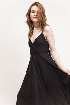 Vestido Black Rose - Wearelse