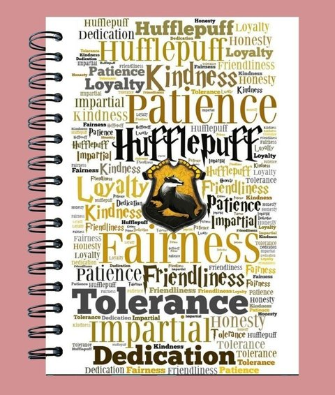Agenda Harry Potter Hufflepuff