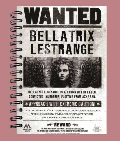Anillado Wanted - Bellatrix