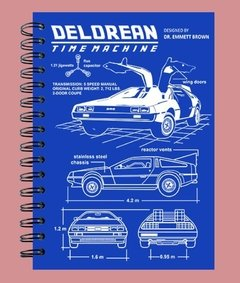 Anillado Blueprint Delorean