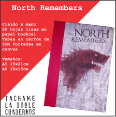 Cosido Casa Stark - The North Remembers - Juego de Tronos - comprar online