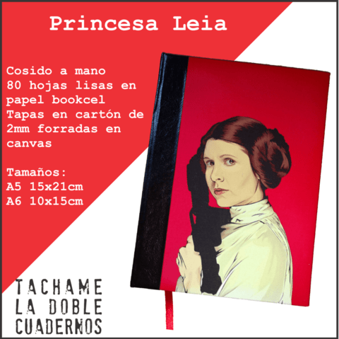 Cosido Princesa Leia Star Wars