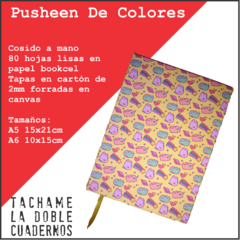 Cosido Pusheen Cat de Colores