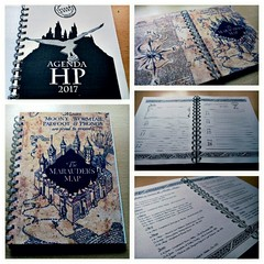 Agenda anillada - Harry Potter