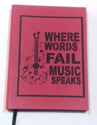 Where words fail, music speaks - comprar online