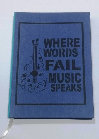Where words fail, music speaks - tienda online