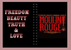 Anillado Musical Moulin Rouge - comprar online
