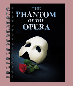 Anillado Musical Phantom of The Opera