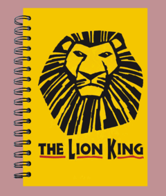 Anillado Musical The Lion King
