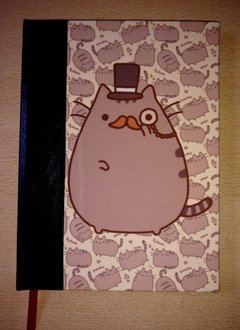 Cosido Pusheen Cat con Galera