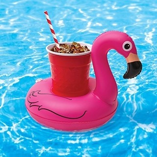 Boia para Drinks Flamingo