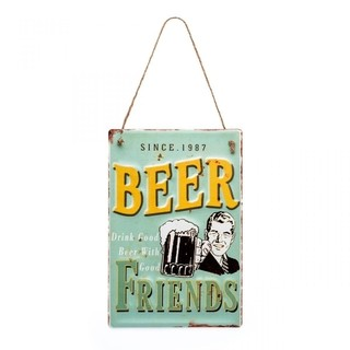 Placa Beer Friends