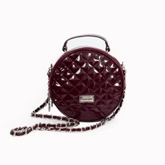 Minibag Ballie color bordo charolado Producto PREMIUM
