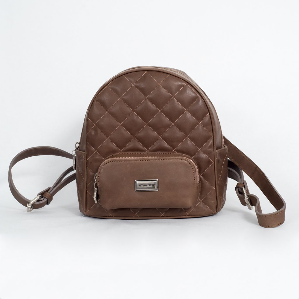 6df031ac6 Mochila Martina color marron chocolate PRODUCTO PREMIUM