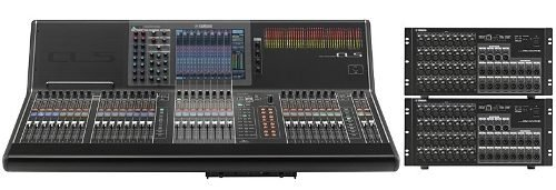 Mixer Digital Yamaha Cl5 Ideal Sonido En Vivo en internet