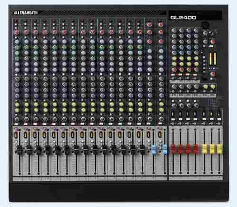 Mixer Consola Allen & Heath Gl 2400-416 Fact A Y B