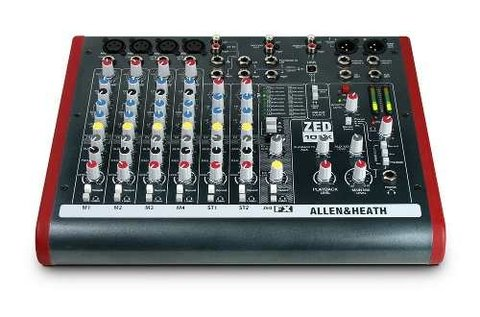 Mixer Consola Allen & Heath Zed 10 Fx C/ Usb Fact A Y B