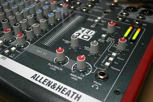 Mixer Consola Allen & Heath Zed 10 De 6 Canales Fact A Y B en internet