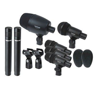 Set Kit De Microfonos Para Bateria 7 Piezas Takstar Dms-7as