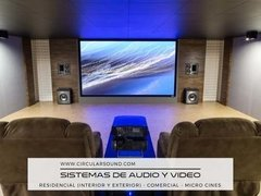 Sistemas De Audio Y Video, Micro Cines, Locales Comerciales