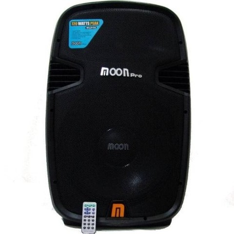 Bafle Activo De 15 Moon Wild 15 Aup Bluetooth Radio Usb Mp3