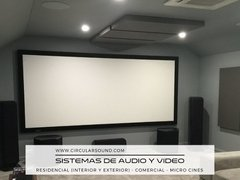 Sistemas De Audio Y Video, Micro Cines, Locales Comerciales - circularsound