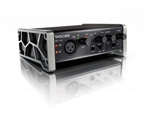 Placa De Audio Tascam Us 1x2