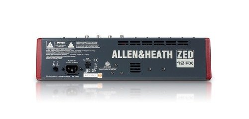 Mixer Consola Allen & Heath Zed-12 Fx - circularsound
