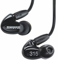 Auricular Profesional In Ear Shure Se315 Fact A Y B