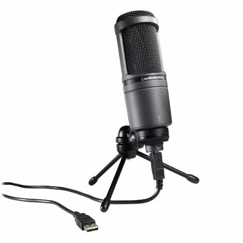 Micrófono Condenser Audio Technica At 2020 USB+