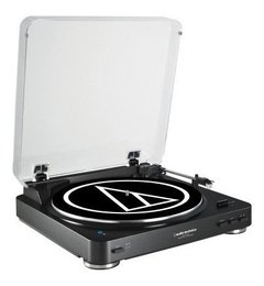Bandeja Vinilos Audio Technica At Lp60 Bt Bluetooth Negra