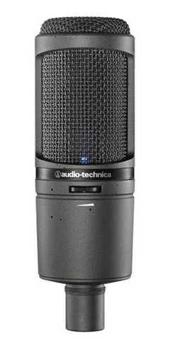 Micrófono Condenser De Estudio Audio Technica At2020usbi en internet