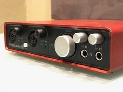 Interface Placa De Audio Focusrite Scarlett 6i6 Usada Oferta - circularsound