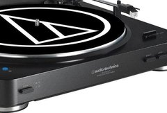 Bandeja Vinilos Audio Technica At Lp60 Bt Bluetooth Negra - comprar online