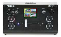 Switcher Mezclador De Video Rgblink Mini Para Streaming