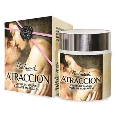 Creme de Massagem Atraccion LUXO - Secret Play