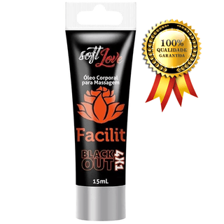 Gel Lubrificante Anal Sem Dor Facilit Hot 4x1 Soft Love Bisn.15ml