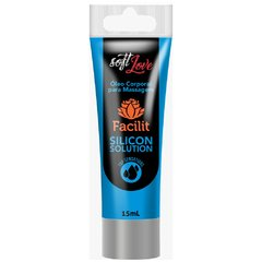 Facilit Silicon Solution Gel Anestésico Anal a Prova D'água 15ml Soft Love